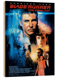 Hout print  Blade Runner - Entertainment Collection