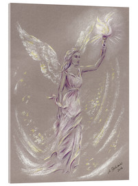 Acrylglas print  Angel of hope - Marita Zacharias