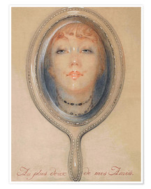Premium poster  To the sweetest of my friends - Gerda Wegener