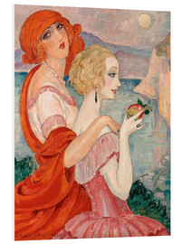 PVC print  On the road to Anacapri - Gerda Wegener