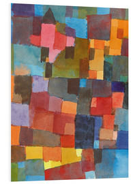 PVC print  Room Architectures (On Cold-Warm) - Paul Klee