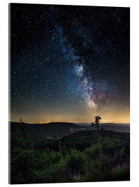 Acrylglas print  Milky Way over Black Forest - Andreas Wonisch