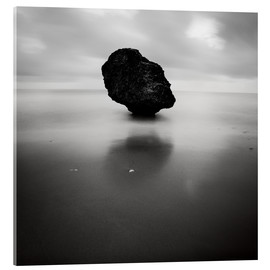 Acrylglas print  Rock on Batsheba beach - Matteo Colombo
