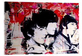 Acrylglas print  The Beatles - Michiel Folkers