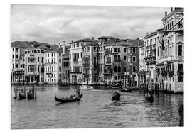 PVC print  Venice black and white - Filtergrafia