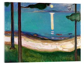 Acrylglas print  Moonlight - Edvard Munch