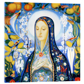 Acrylglas print  the virgin - Joseph Stella