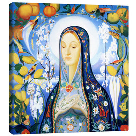 Canvas print  the virgin - Joseph Stella