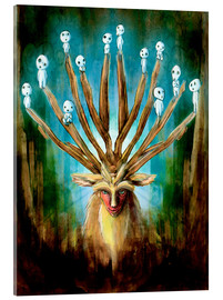 Acrylglas print  The Deer God of Life and Death - Barrett Biggers