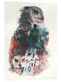 Acrylglas print  The Owls are Not What They Seem - Barrett Biggers