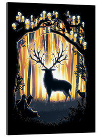 Acrylglas print  The God of the forest - Barrett Biggers