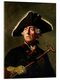 Acrylglas print  Frederick the Great - Wilhelm Camphausen