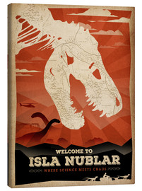 Canvas print  Welcome to Isla Nublar - Albert Cagnef