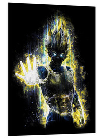 PVC print  Vegeta Fury - Barrett Biggers