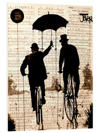 PVC print  The umbrella - Loui Jover