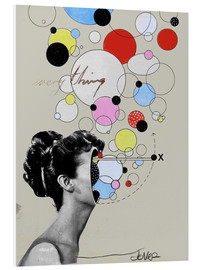 PVC print  Everything is a universe - Loui Jover