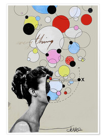 Premium poster  Everything is a universe - Loui Jover
