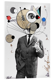 Acrylglas print  the thinking man - Loui Jover