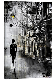 Canvas print  Chinatown Walk - Loui Jover