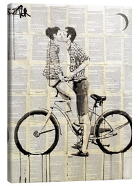 Canvas print  love cycle - Loui Jover
