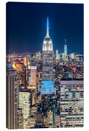 Canvas print  Empire State Building from Top Of The Rock - Sascha Kilmer