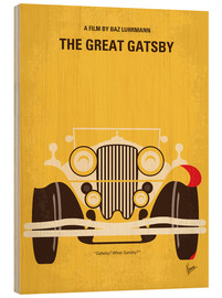 Hout print  The Great Gatsby - chungkong