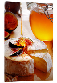 Acrylglas print  Brie Cheese and Figs with honey - Johan Swanepoel