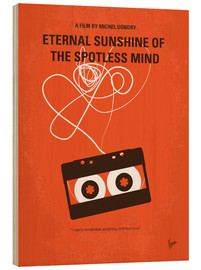 Hout print  Eternal Sunshine Of The Spotless Mind - chungkong