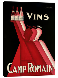 Canvas print  Vins Camp Romain - L. Gadoud
