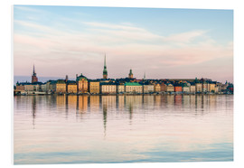 PVC print  Stockholm city in Sweden, The Old Town (Gamla Stan)