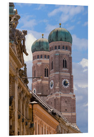 PVC print  Frauenkirche in Munich