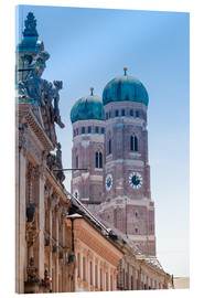 Acrylglas print  The Frauenkirche in Munich