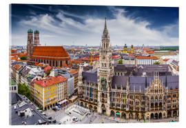 Acrylglas print  Munich at its best