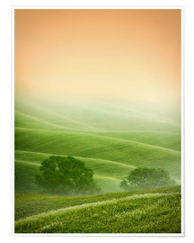 Premium poster Country Landscapes of Tuscany