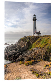 Acrylglas print  Pigeon Point Lighthouse
