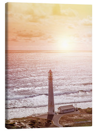 Canvas print  Morning glow at the lighthouse