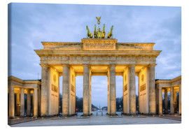 Canvas print  Brandenburg Gate, Berlin - Michael Valjak