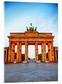 Acrylglas print  Brandenburg gate at sunrise