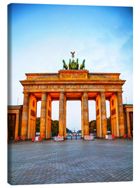 Canvas print  Brandenburg gate at sunrise