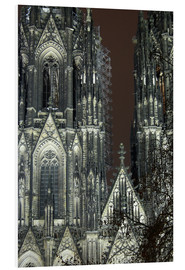 PVC print  Detail of Cologne Cathedral