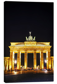 Canvas print  Brandenburg gate (Brandenburger Tor) in Berlin