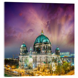 Acrylglas print  Berliner Dom - German Cathedral at sunset