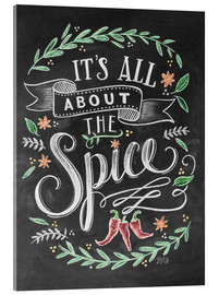 Acrylglas print  It's all about the Spice - Lily & Val