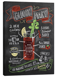 Canvas print  Bloody Mary recipe - Lily & Val