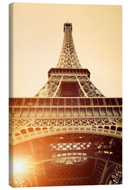 Canvas print  Vintage Eiffel Tower, Paris