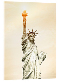 Acrylglas print  Liberty Statue in New York, USA