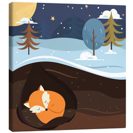 Canvas print  Resting fox - Kidz Collection