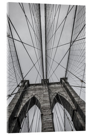 Acrylglas print  Brooklyn Bridge in New York