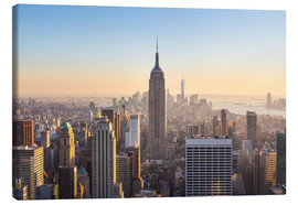Canvas print  Skyline van Manhattan