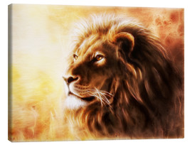 Canvas print  King of the animals